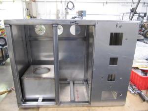 Inside Nitinol Salt Pot Cabinet