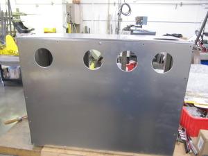 Nitinol Salt Pot Cabinet