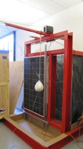Solar Panel Test Rig